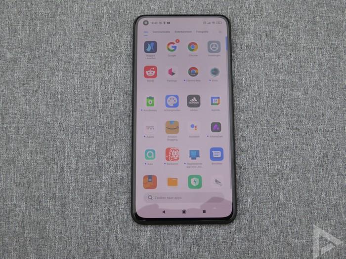 Xiaomi Mi 11 Lite menu