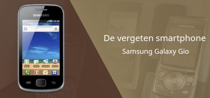 De vergeten smartphone: Samsung Galaxy Gio (S5660) uit 2011