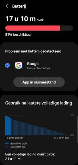 Google app crash