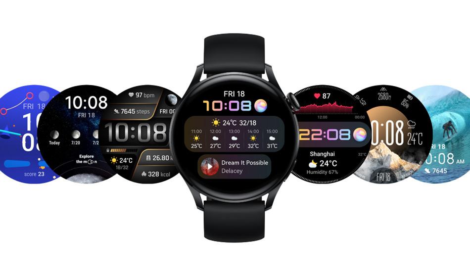 Huawei Watch 3 watch face