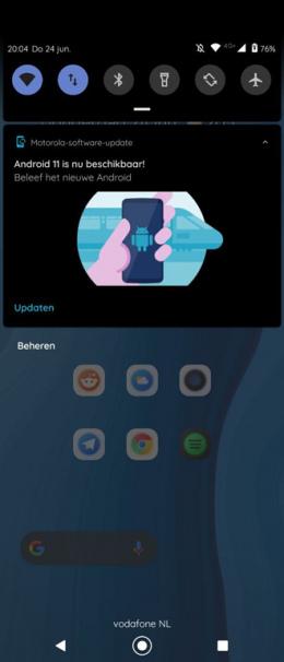 Moto G 5G Plus Android 11