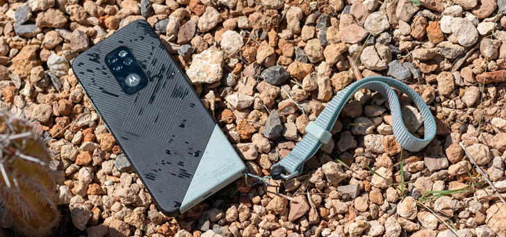 Motorola Defy header