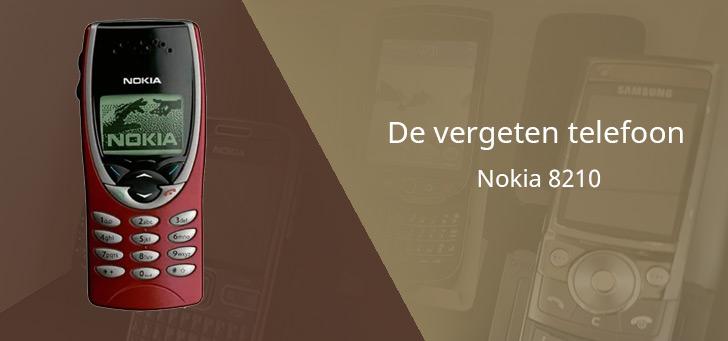 De vergeten telefoon: Nokia 8210 uit 1999