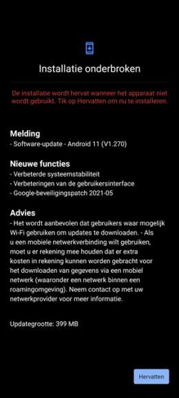 Nokia X20 beveiligingsupdate mei 2021