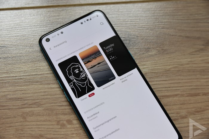 OnePlus Nord CE 5G OxygenOS