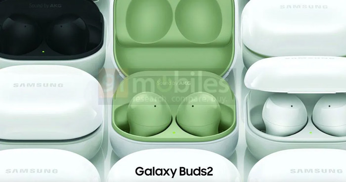 Samsung Galaxy Buds 2 persfoto