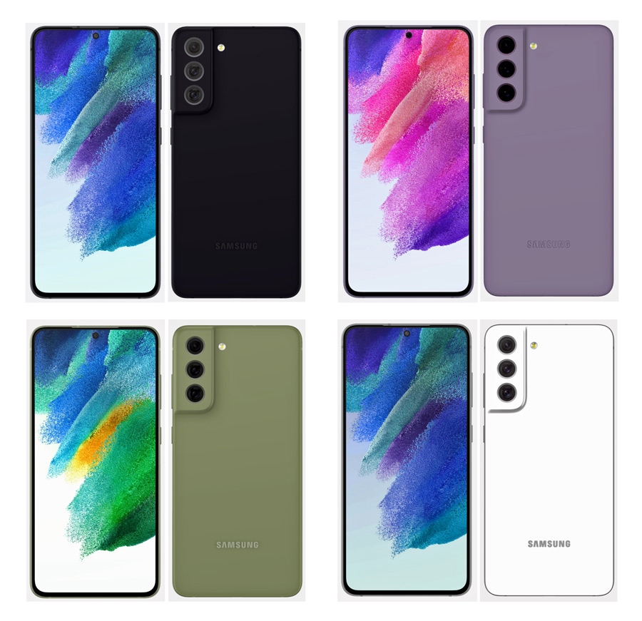 Samsung Galaxy S21 FE evleaks