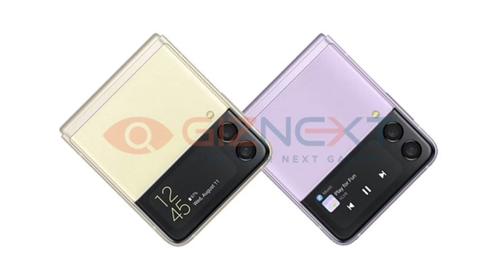 Samsung Galaxy Z Flip 3 close