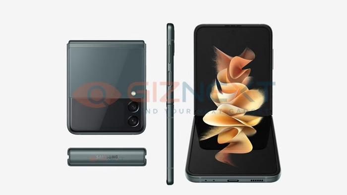 Samsung Galaxy Z Flip 3 dark grey