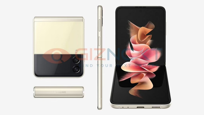 Samsung Galaxy Z Flip 3 yellow
