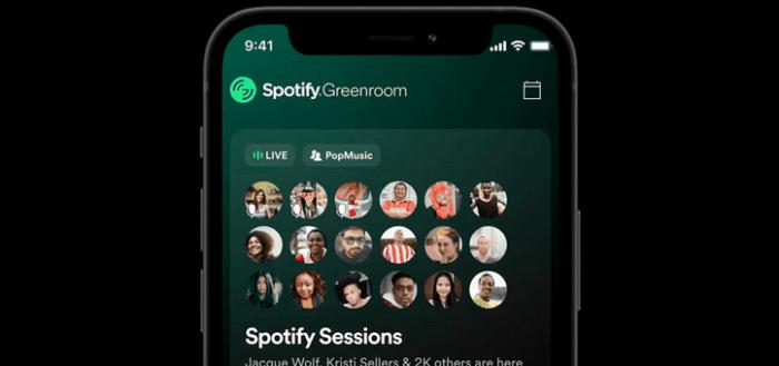 Spotify komt met eigen Clubhouse-alternatief: dit is Spotify Greenroom