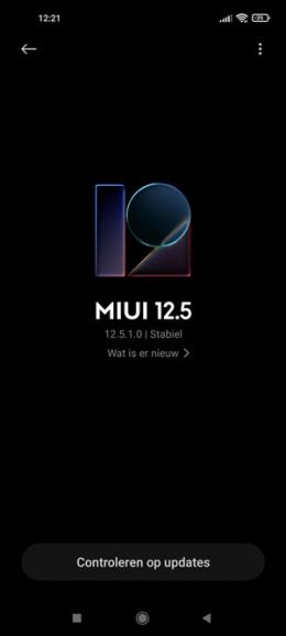 Xiaomi Mi 11 Lite MIUI 12.5