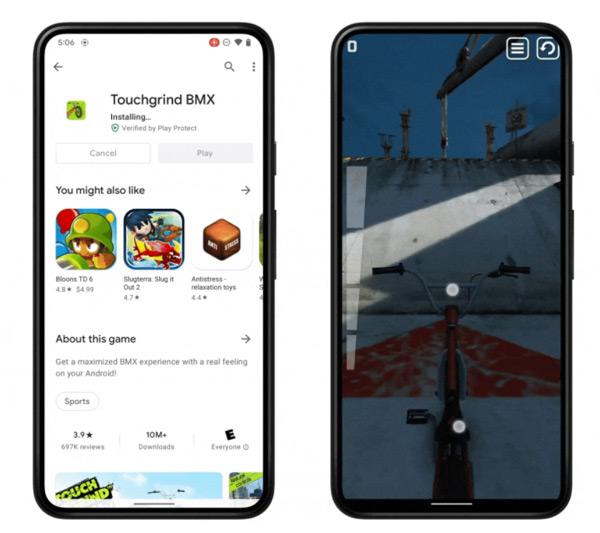 Android 12 games installatie
