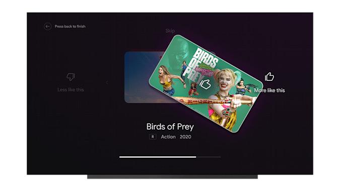 Android TV aanbevelingen