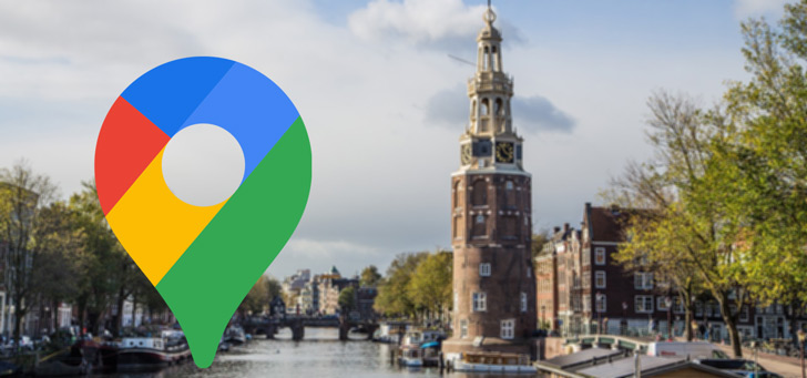 Google Maps gaat de gedetailleerd luchtvervuiling in Amsterdam in beeld brengen