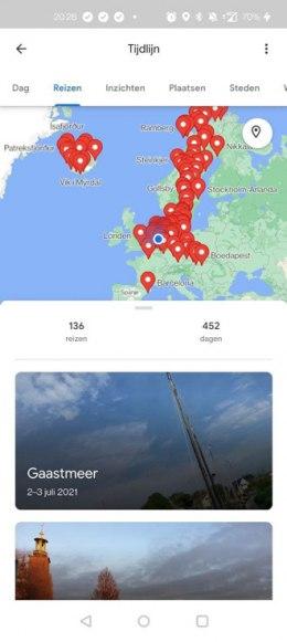 Google Maps reizen 1