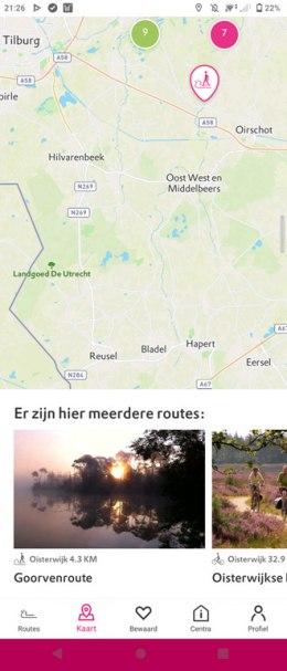 Natuurmonumenten routes nederland app