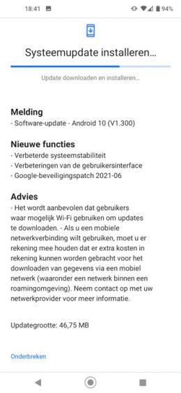 Nokia 5.4 juni 2021 update