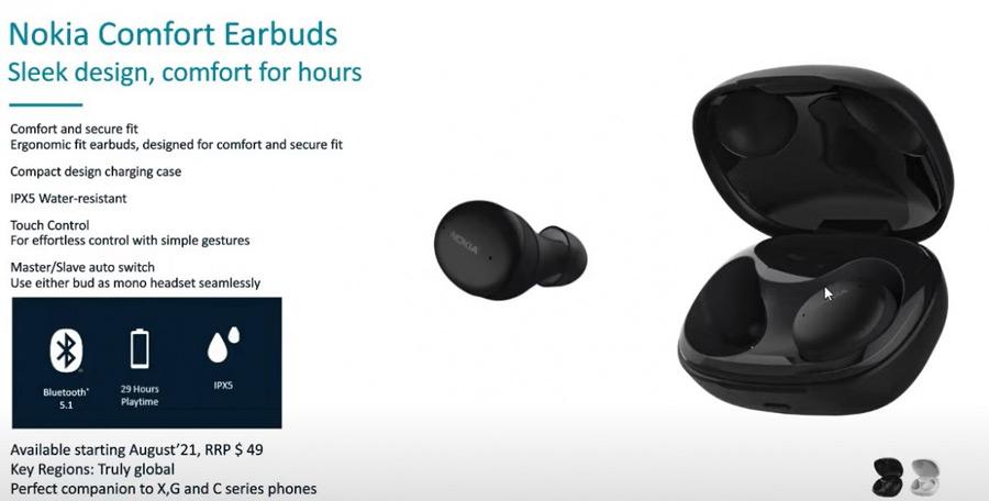 Nokia Comfort Earbuds