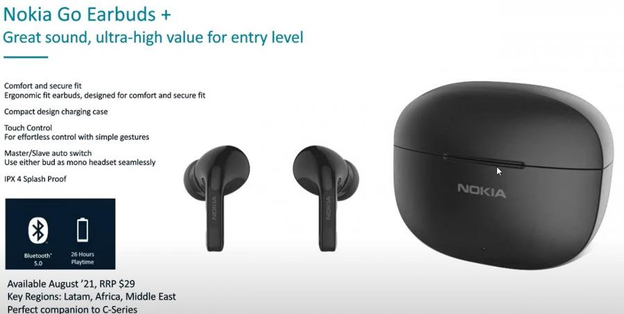 Nokia Go Earbuds plus