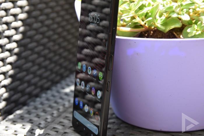 Sony Xperia 1 III vingerafdrukscanner