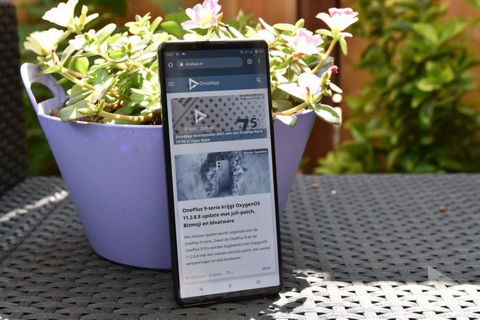 Sony Xperia 1 III internet
