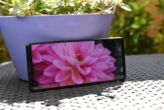 Sony Xperia 1 III beeldscherm
