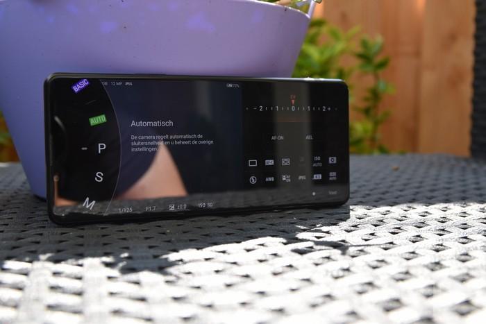 Sony Xperia 1 III camera-app