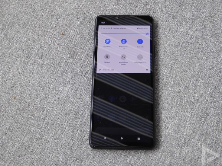 Sony Xperia 10 III notificaties