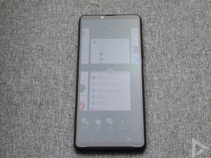 Sony Xperia 10 III multitasking