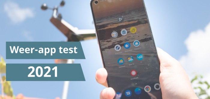 De grote weer-app test 2021: dit is de beste weer-app van Nederland