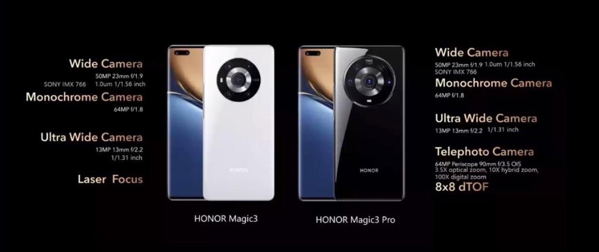 Honor Magic 3 camera