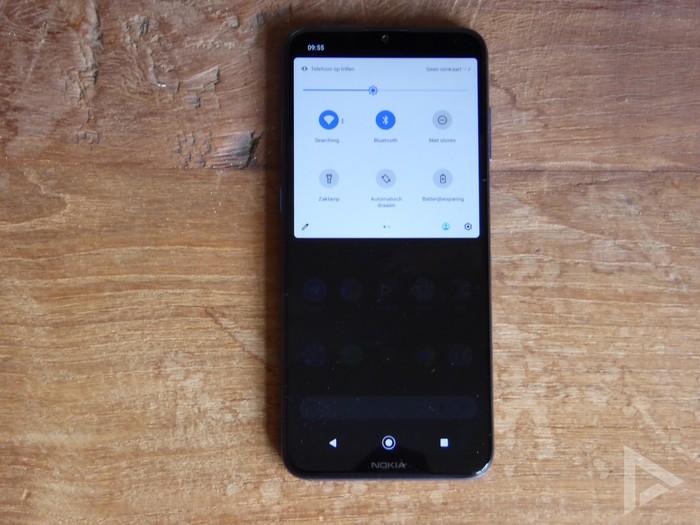 Nokia G20 notificaties snelle instellingen