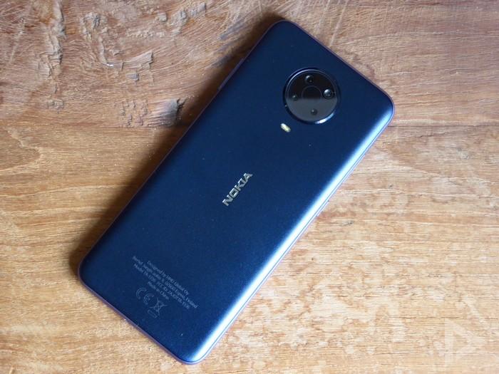 Nokia G20 achterkant