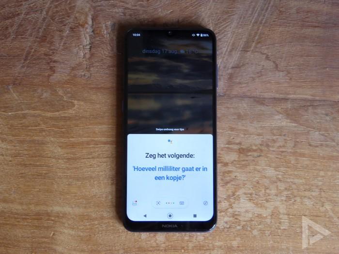 Nokia G20 Google Assistent