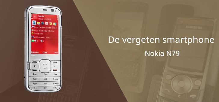 De vergeten smartphone: Nokia N79 uit 2008