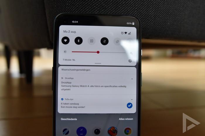 OnePlus Nord 2 notificaties