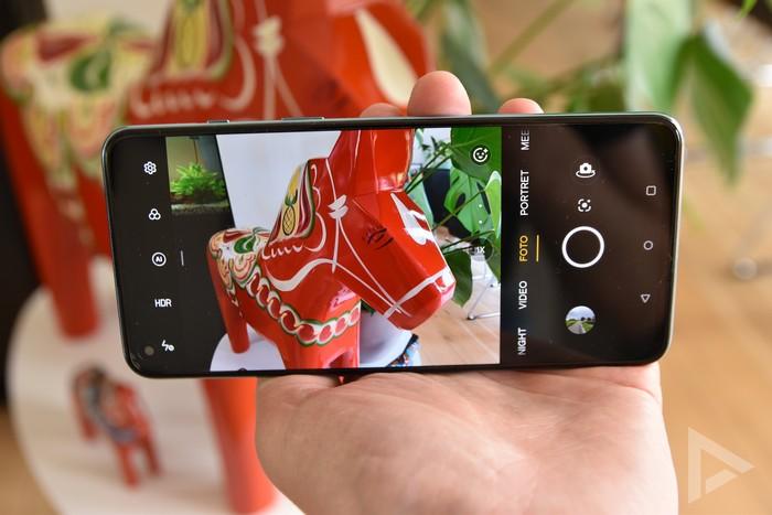 OnePlus Nord 2 camera-app