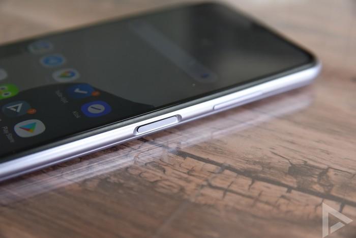 Samsung Galaxy A22 vingerafdrukscanner