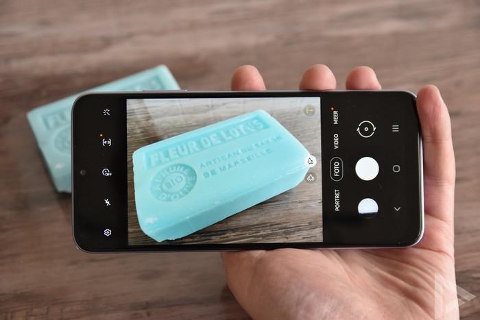 Samsung Galaxy A22 camera-app