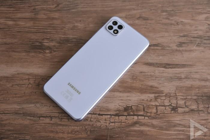 Samsung Galaxy A22 achterkant