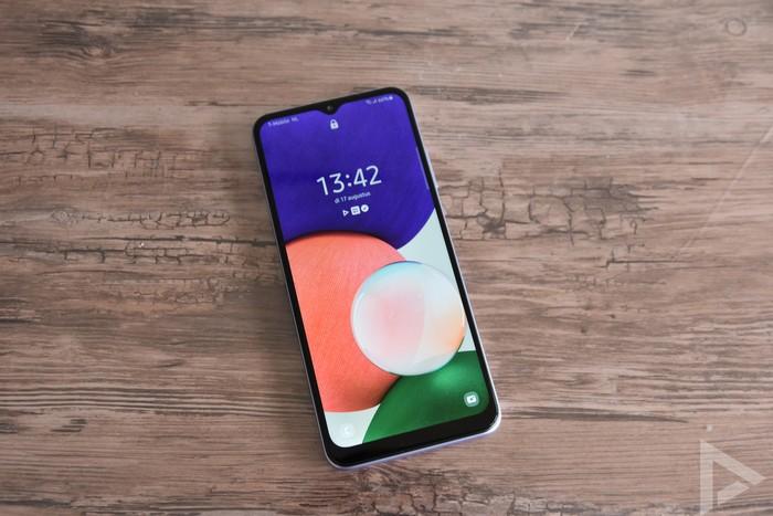 Samsung Galaxy A22 vergrendelscherm