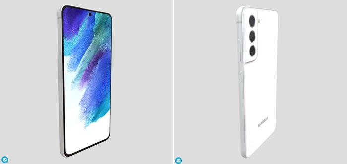 Samsung Galaxy S21 FE 3d render