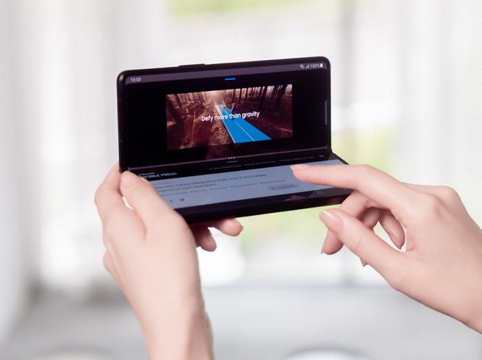 Samsung Galaxy Z Fold 3 scherm
