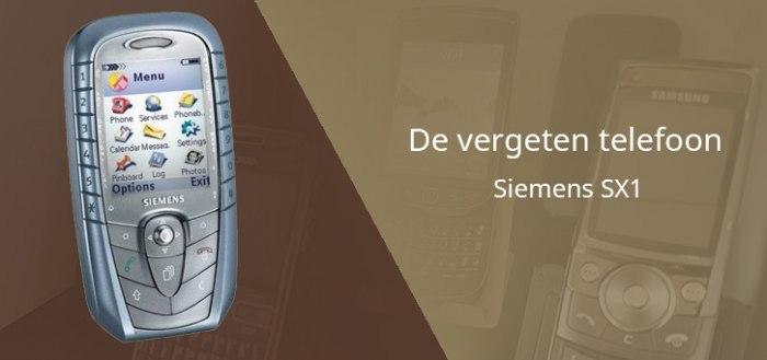 De vergeten telefoon: Siemens SX1 uit 2003
