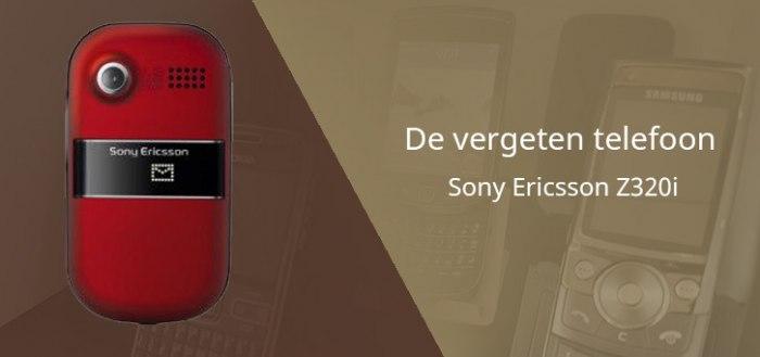 De vergeten telefoon: Sony Ericsson Z320i uit 2007