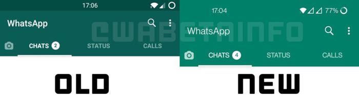 WhatsApp kleuren groen