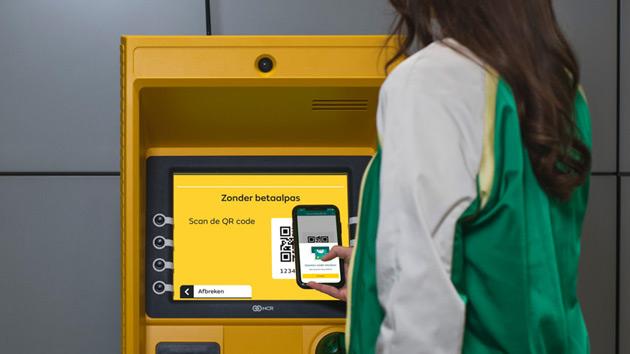 ABN Amro QR geldautomaat