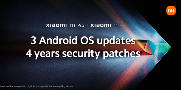 Android updates Xiaomi