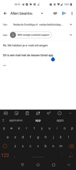 Gmail Material You Android
